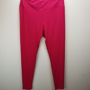 LulaRoe Pink Leggings.